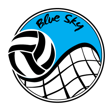 Blue Sky Volleyball